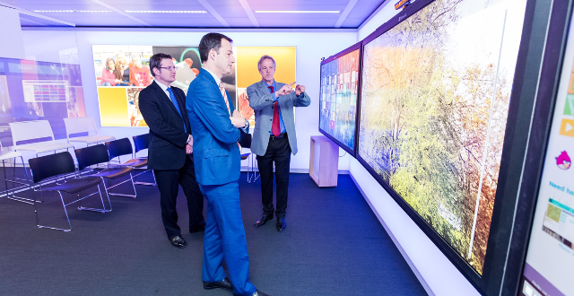 Microsoft opent eerste Europese Transparency Center in Brussel