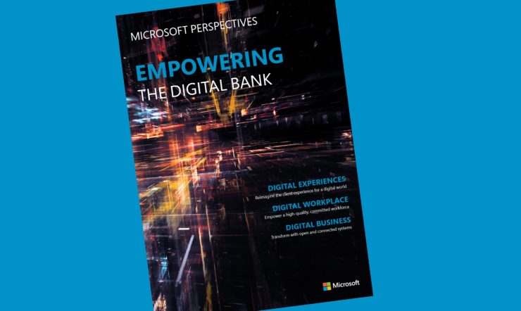 E-bok från Microsoft: Empowering the digital bank