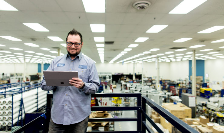 Microsoft Pivot: Accelerating Digital Change in Manufacturing
