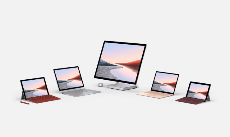 New Surface devices 2020