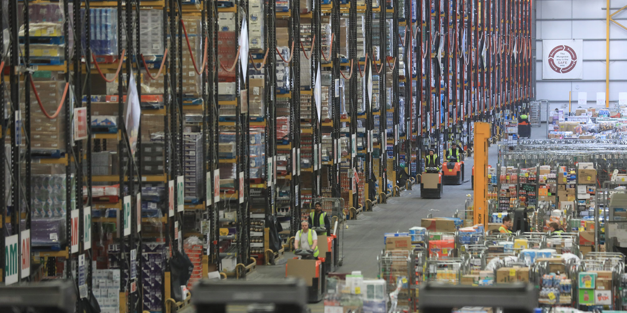 Image of a massive warehouse