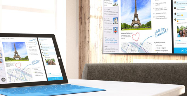 Projetez sur grand écran avec le Microsoft Wireless Display Adapter