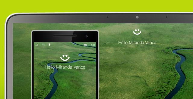 Établissez un contact visuel avec Windows Hello