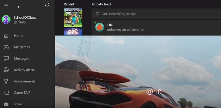 Xbox profiel
