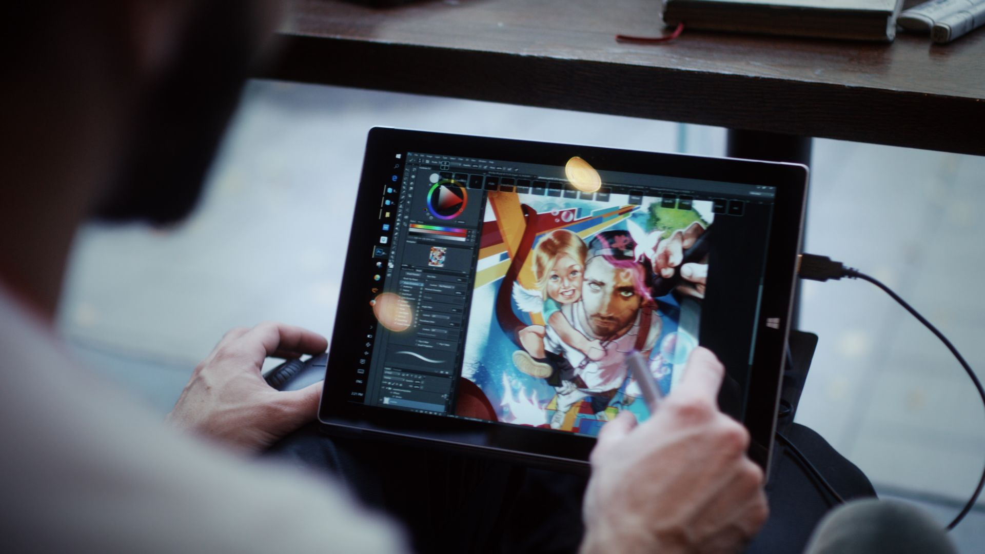 Ilias Patlis Surface Pro 4 mobile professional productivity work from anywhere