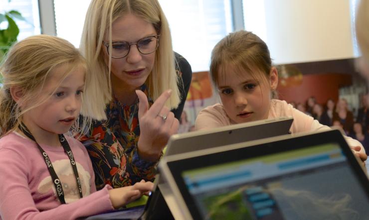 Digigirlz: les filles découvrent l'avenir de l'informatique
