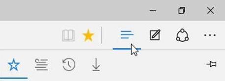 Microsoft Edge Favorieten