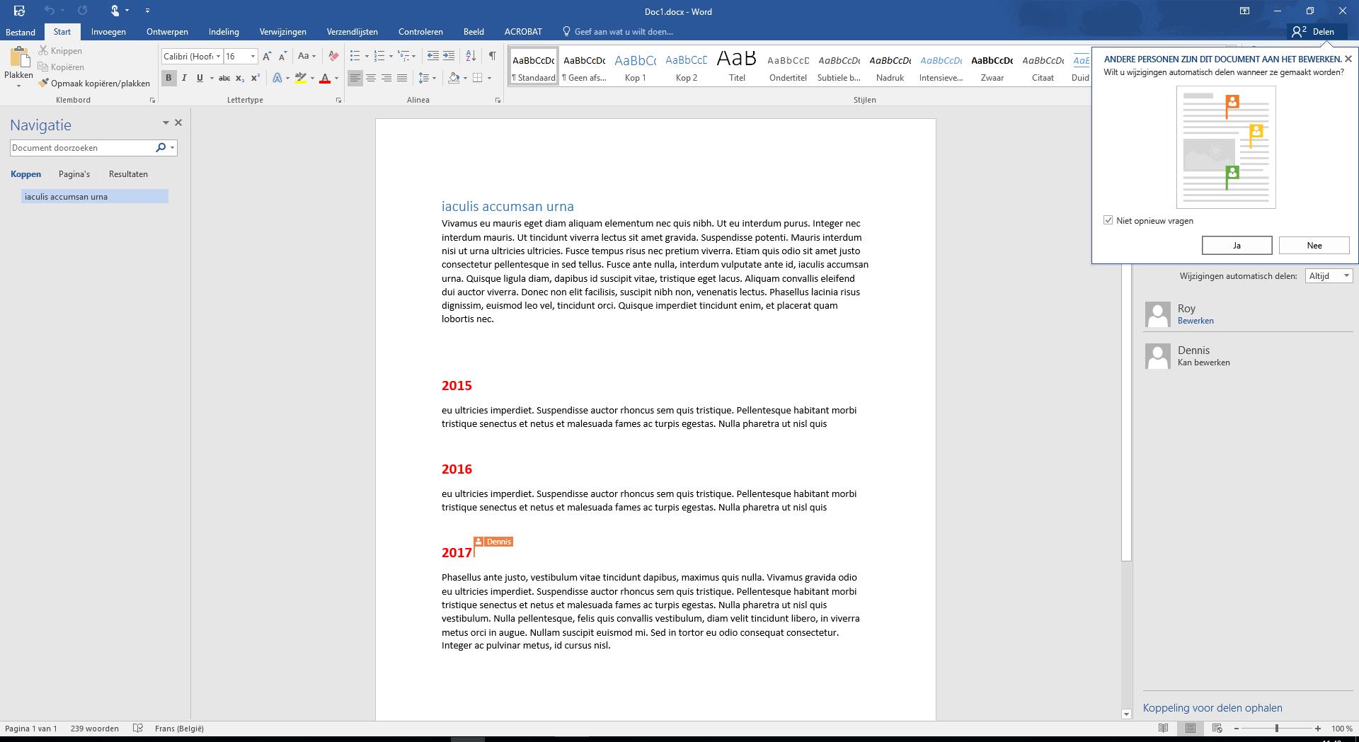 Samenwerken was nog nooit zo makkelijk met Office 365