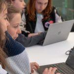 kinderen met computers