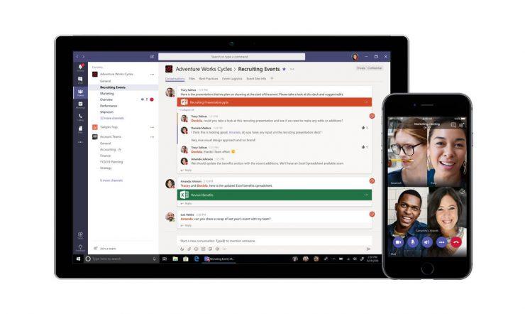 Microsoft lance une version gratuite de Teams