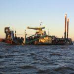 Vanoord ship in St Peterburg