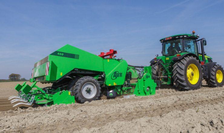 Aardappelkwekers profiteren van de technologische vernieuwing van AVR en sensoren (IoT)