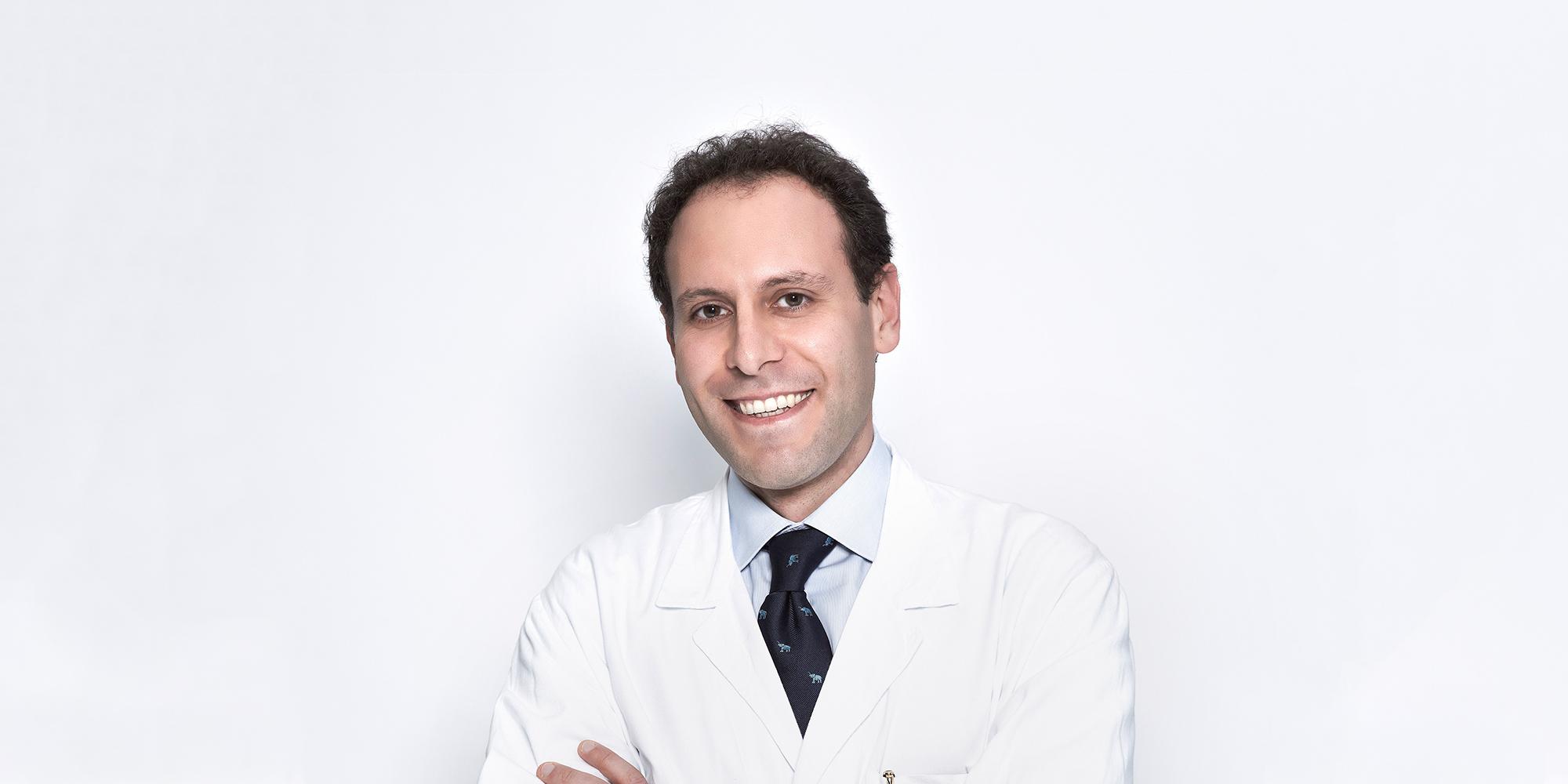 Ritratto di un medico dell'ospedale San Raffaele di Milano