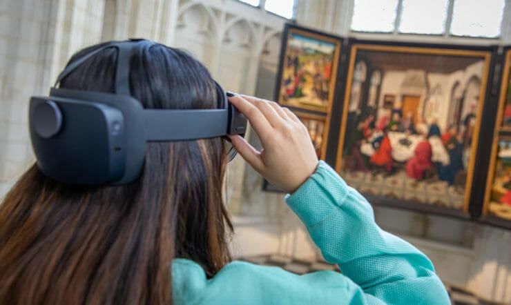 Les maîtres flamands en 3D à l'église Saint-Pierre de Louvain