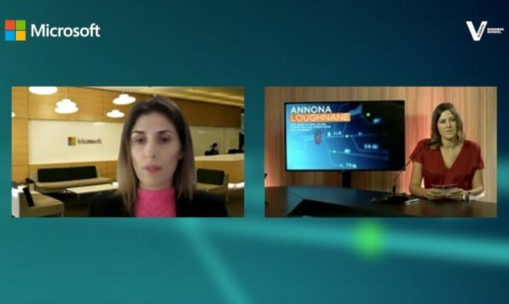 Hoe beïnvloedt artificiële intelligentie financiële jobs? CFO van Microsoft EMEA Annona Loughnane licht toe.