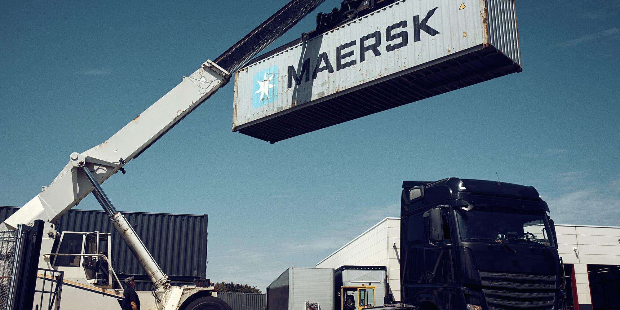 En Mærsk-container